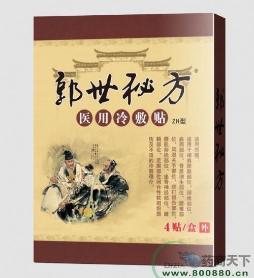 郭世秘方(医用冷敷贴)黑膏药